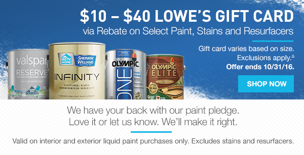 Lowes: Today's Your Lucky Day: Huge Savings on Appliances   Milled