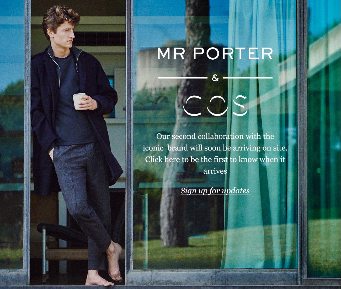 Mr porter mr porter and cos present the art of the for Mister porter