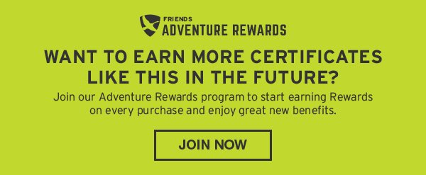 JOIN ADVENTURE REWARDS