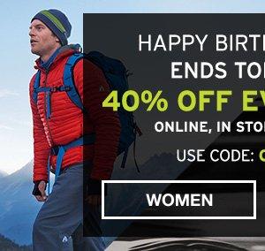 40% OFF EVERYTHING | SHOP MEN