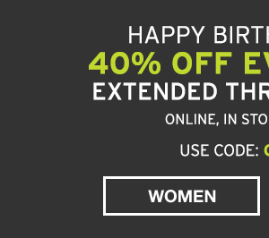 40% OFF EVERYTHING | SHOP MEN