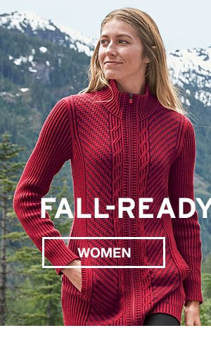 FALL READY SWEATERS | SHOP WOMEN