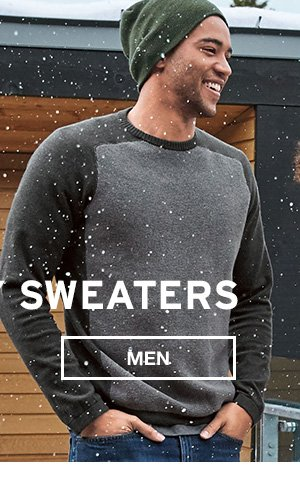 FALL READY SWEATERS | SHOP MEN