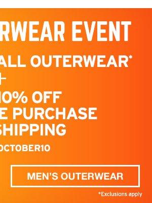 Extra 10% Plus Free Shipping | SHOP MEN