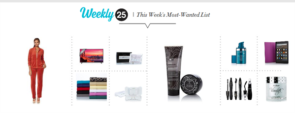 WEEKLY 25 - THIS WEEK'S MOST-WANTED LIST