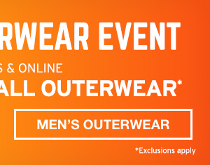 UP TO 40% OFF ALL OUTERWEAR | MEN