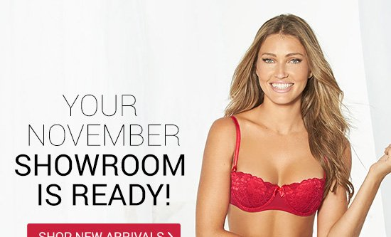 Your November showroom is ready