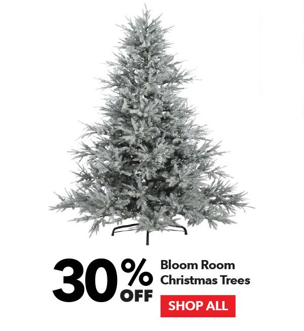 30% off Bloom Room Christmas Trees. Shop All.