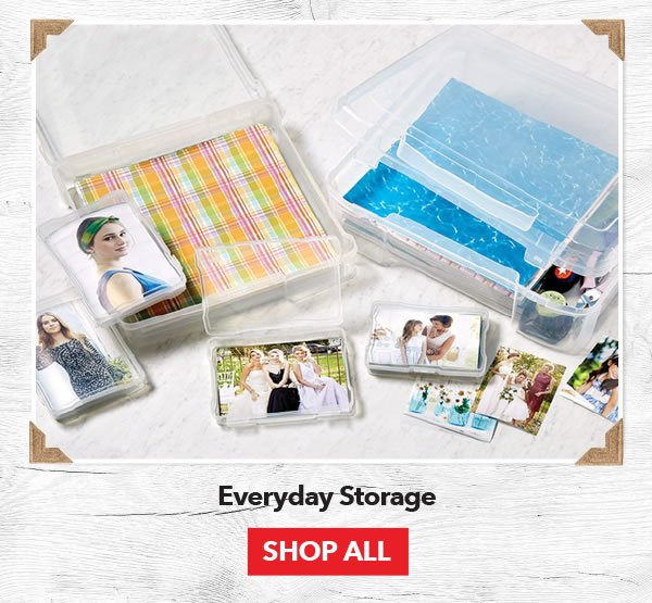 Up to 50% off Everyday Storage. Excludes Lawn Fawn. Shop All.