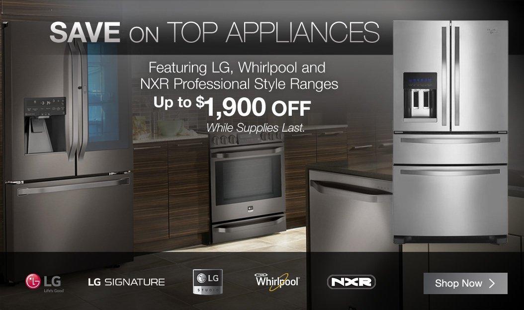Costo Holiday Savings On Name Brand Appliances Starts Now