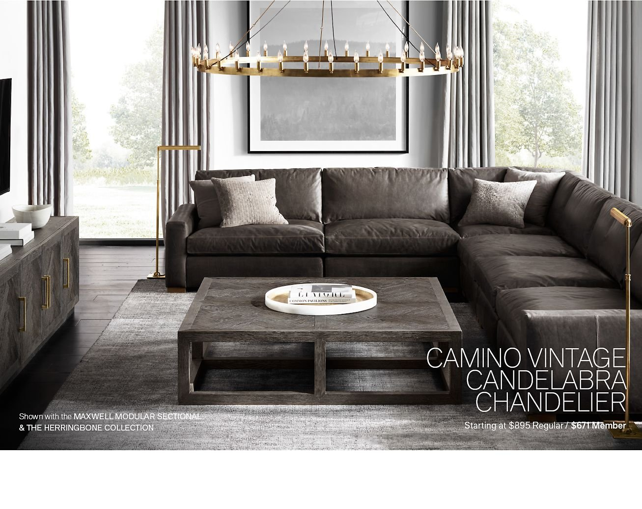 Restoration hardware iconic modern lighting by robert sonneman limited exclusions apply visit rhmodern for details arubaitofo Images