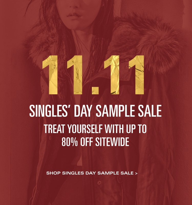 Andrew Marc: The Singles' Day Sample Sale Event | Milled