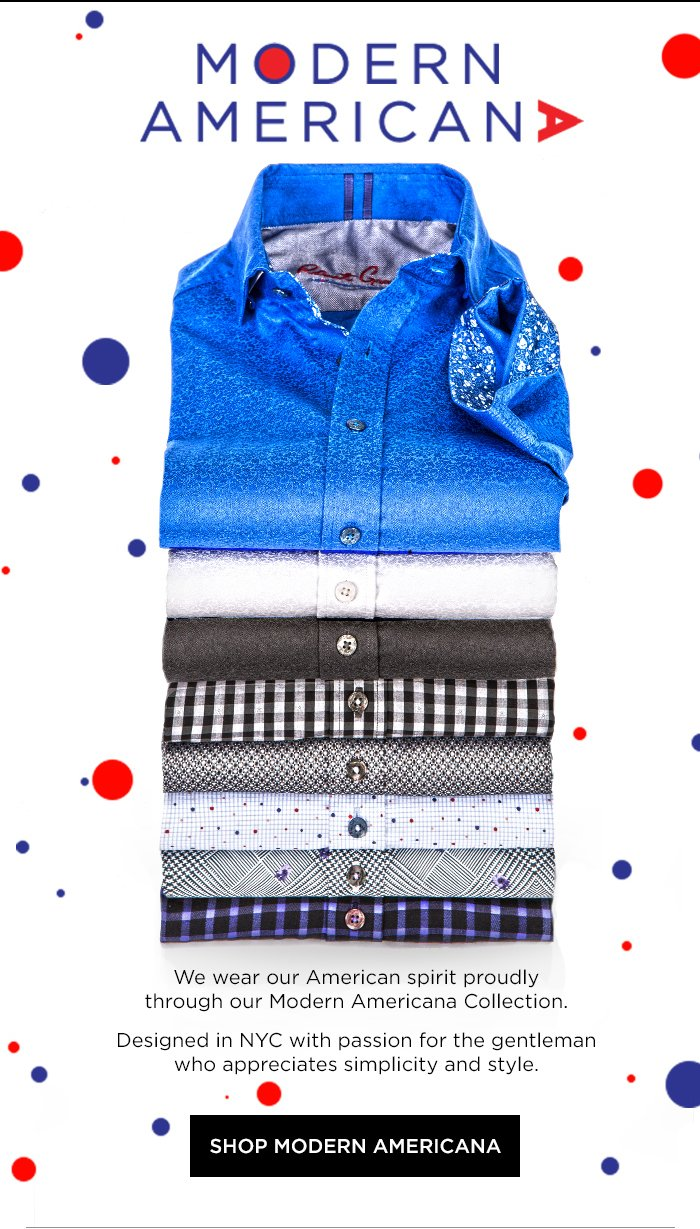 43090ad840f Robert Graham  We wear our American spirit proudly