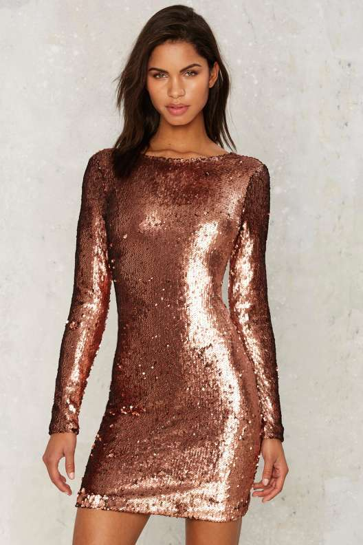 Motel Nominee Sequin Dress
