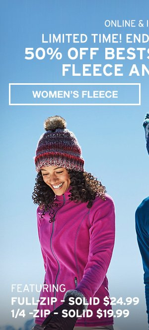 50% OFF QUEST FLEECE | SHOP MEN