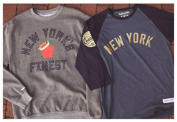 best sneakers f0f11 15e8e Mitchell & Ness: 🍎 New York's Finest - Shop New Yankees ...
