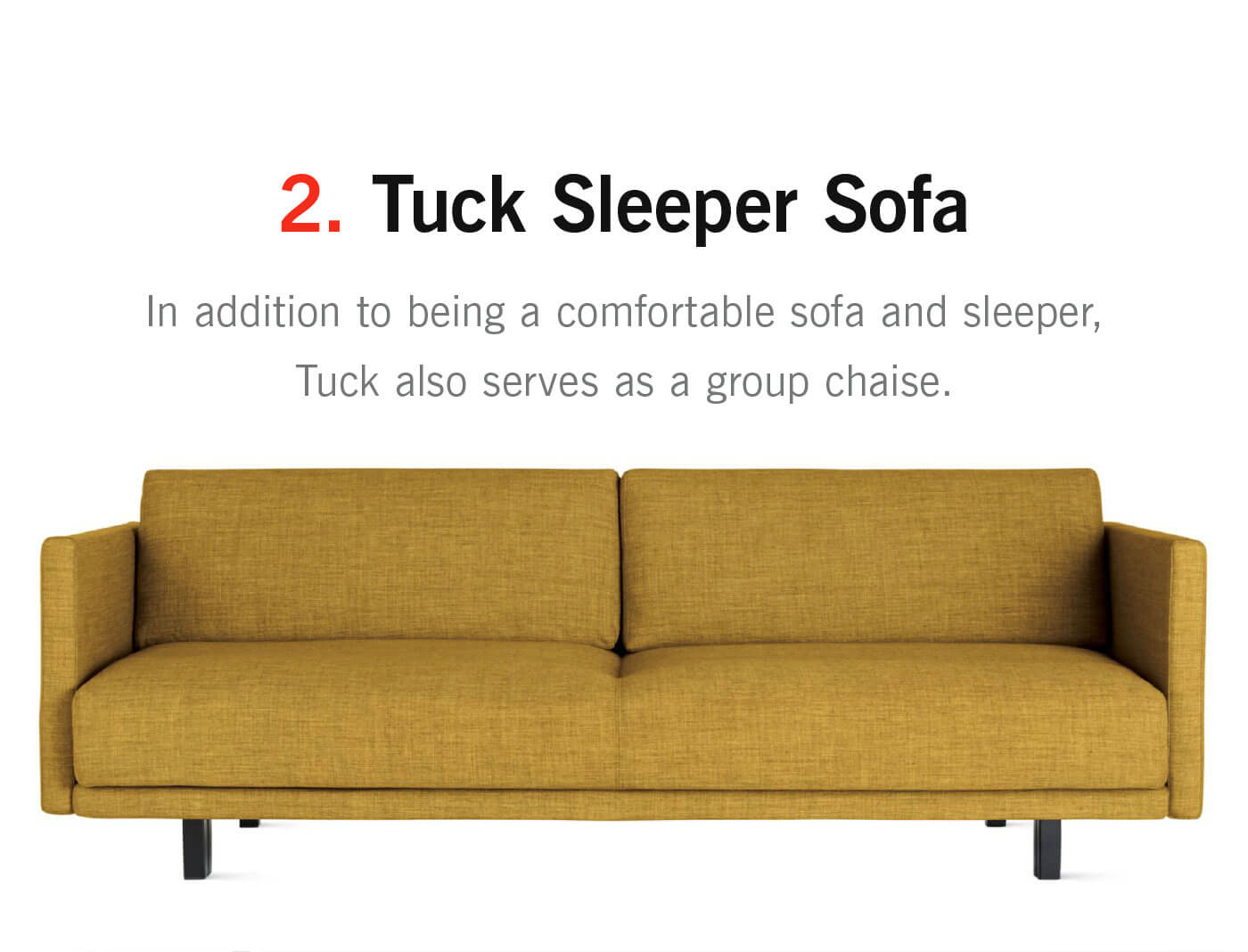 Beau Tuck Sleeper Sofa   In Addition To Being A Comfortable Sofa And Sleeper,  Tuck Also