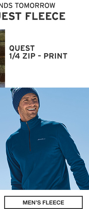 50% OFF QUEST FLEECE | SHOP MEN'S