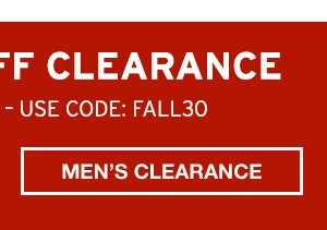 EXTRA 30% OFF CLEARANCE | SHOP MAN'S
