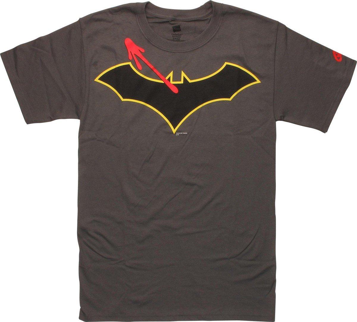 Stylinonline new batman rebirth logo tee get yours today batman watchmen symbol logo t shirt buycottarizona