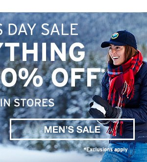VETERANS DAY SALE | SHOP MEN