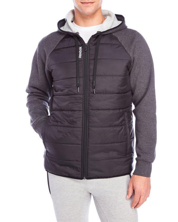 Riley Mixed Media Fleece Jacket