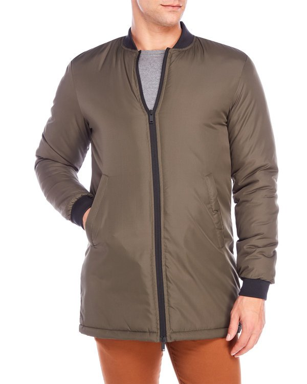 Haven Insulated Long Bomber Jacket