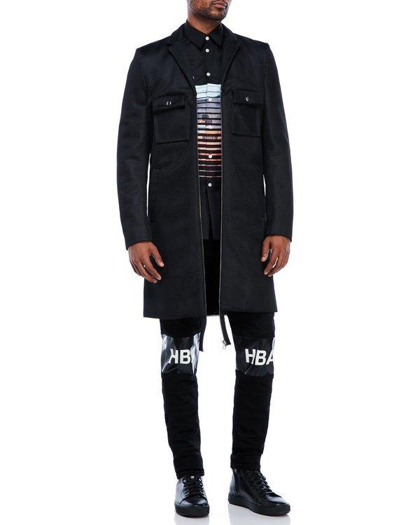 Mesh Overcoat