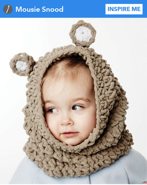 Mousie Snood. INSPIRE ME.