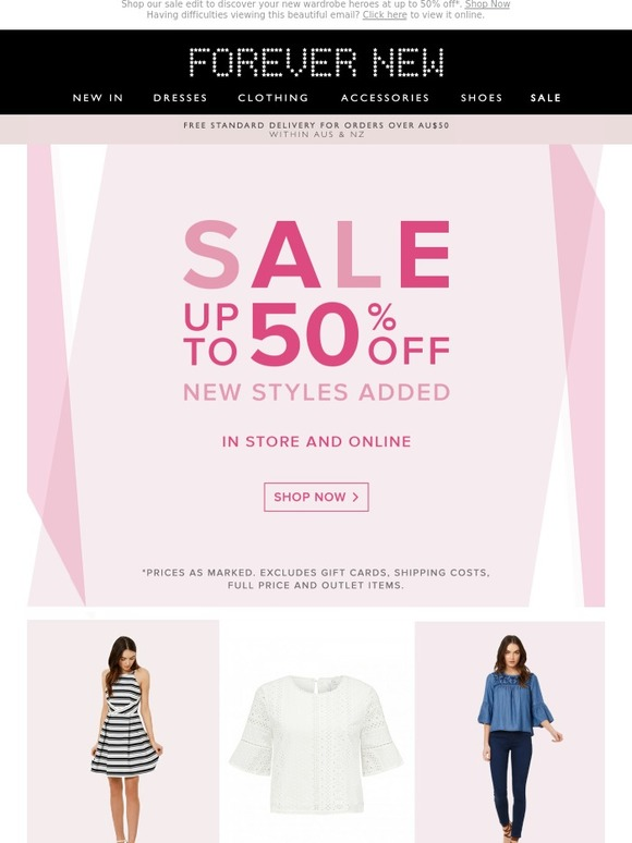 Find the hottest new styles with the best prices On Sale at Forever 21! Get up to 70% off women's clothing & accessories. Shop the best deals on dresses, tops, bottoms, denim, lingerie, activewear, ba.