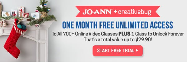 One Month Free Unlimited Access to all 700+ online video classes PLUS 1 class to unlock forever. That's a total value up to $29.90! START FREE TRIAL.