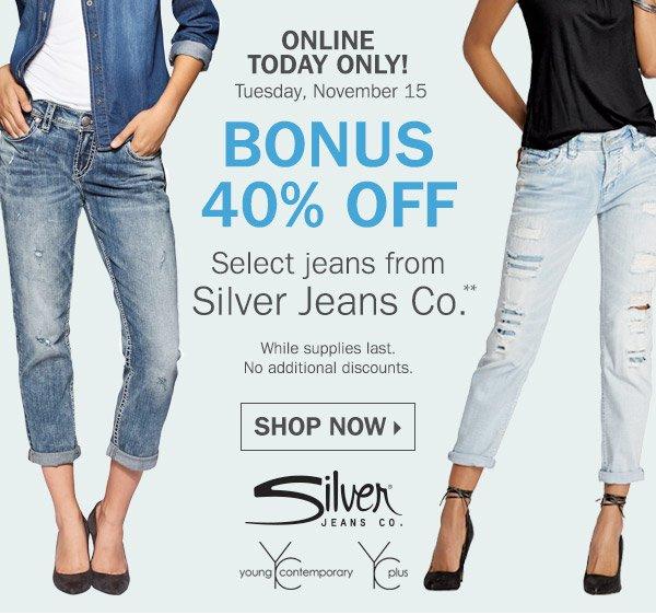 Silver Jeans Promo - Xtellar Jeans