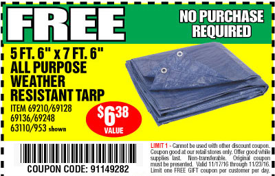 Harbor Freight: Free! No Purchase Required • Merry Christmas to ...
