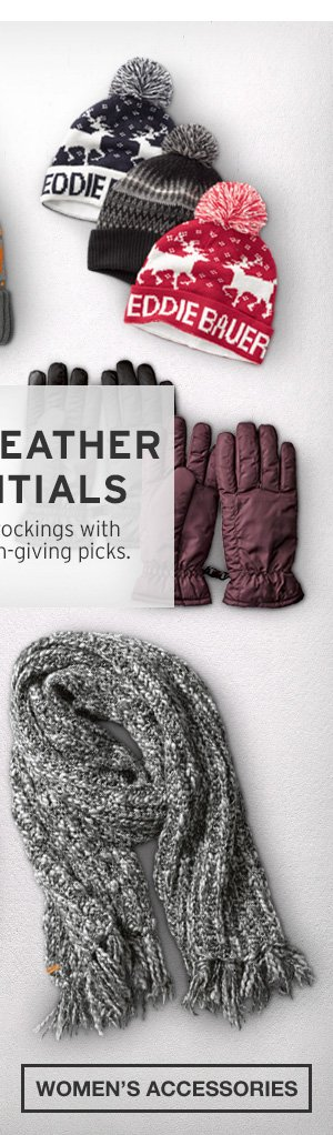 COLD-WEATHER ESSENTIALS | SHOP WOMEN