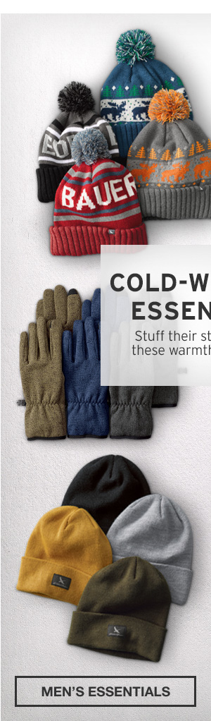 COLD-WEATHER ESSENTIALS | SHOP MEN