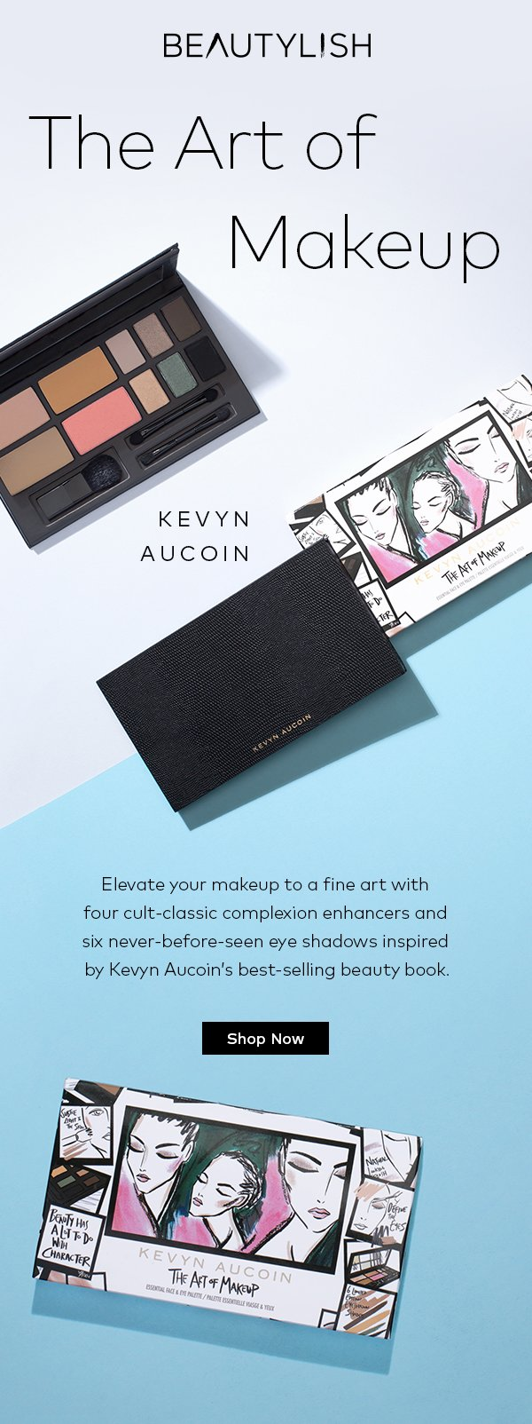 beautylish kevyn aucoin s new palette is a work of art milled