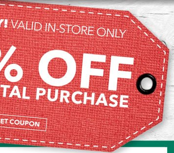 Final Day! 20% off Your Total Purchase. GET COUPON.
