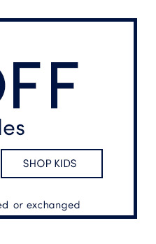 Up to 60% Off Final Sale! Shop Kids