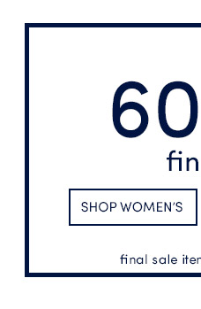 Up to 60% Off Final Sale! Shop Women's