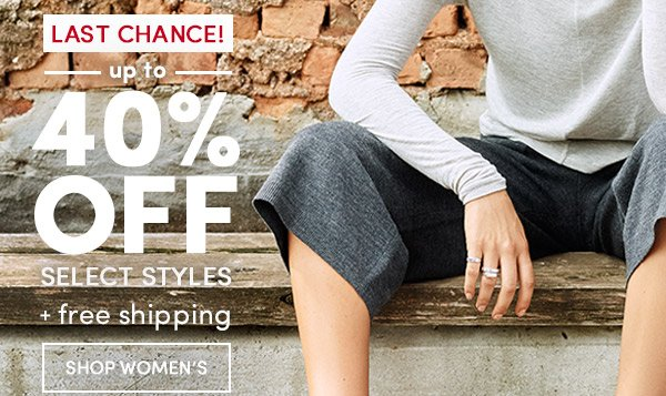 Up to 40% Off! Shop Women's