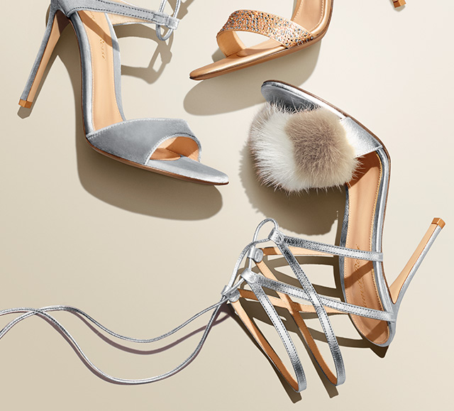 You'll definitely be making an entrance in these shoes...