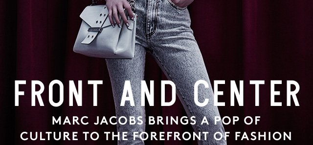 With references old and new, Marc Jacobs creates his own culture of cool.