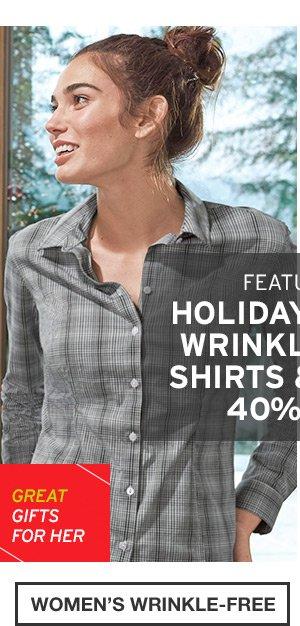 WRINKLE FREE | WOMEN'S WRINKLE FREE