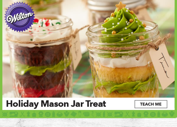 Holiday Mason Jar Treat. TEACH ME.