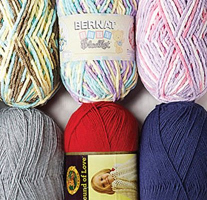 Doorbuster 50% off Entire Stock Baby Yarn