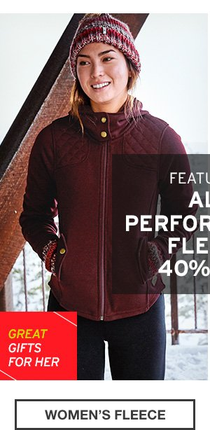 40% OFF FLEECE | WOMEN'S FLEECE