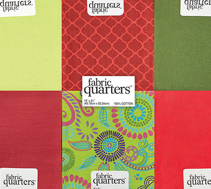 Doorbuster- In-Store Entire Stock Fabric Quarters $.75