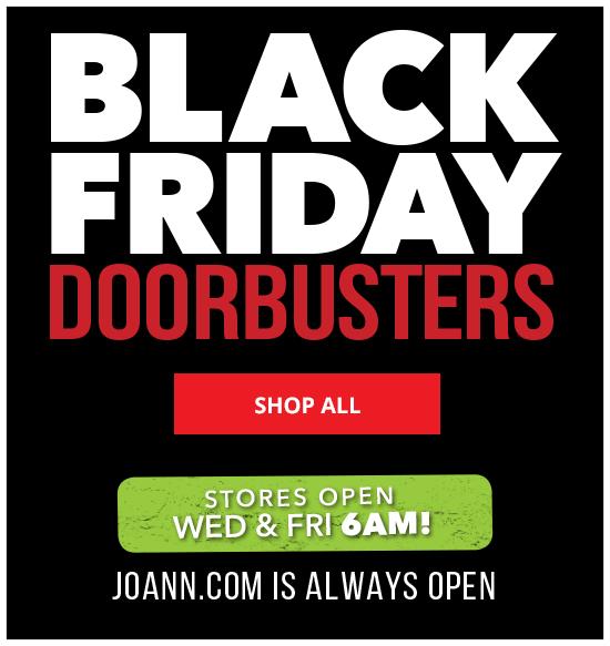 Black Friday Doorbusters Wed & Fri 6 am