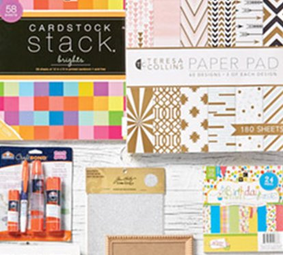 Doorbuster- 50% off Entire Stock Papercrafting Supplies & 15% off Lawn Fawn- Online Only