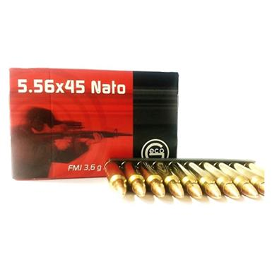 Geco, .223 (5.56x45mm), FMJ, 55 Grain, 250 Rounds